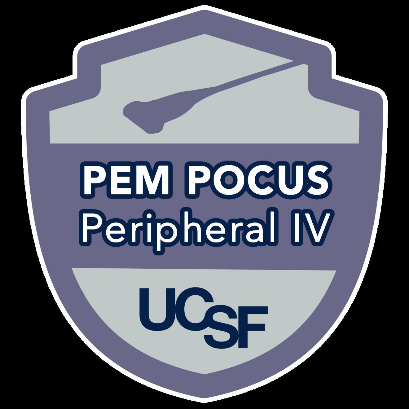 PEM POCUS Peripheral IV
