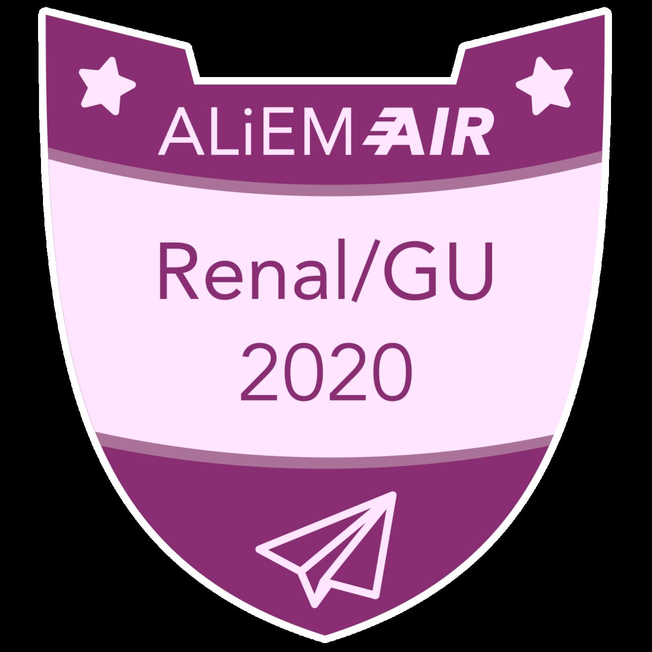 Badge GU Renal 2020